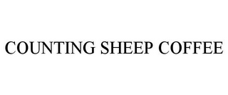 mark for COUNTING SHEEP COFFEE, trademark #85906796