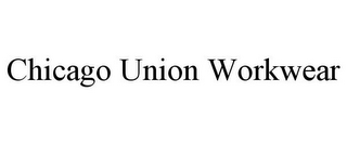 mark for CHICAGO UNION WORKWEAR, trademark #85906852