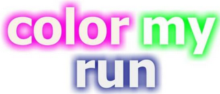 mark for COLOR MY RUN, trademark #85906855