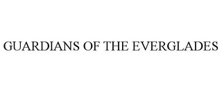 mark for GUARDIANS OF THE EVERGLADES, trademark #85907252