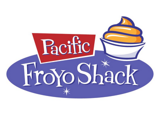 mark for PACIFIC FROYO SHACK, trademark #85907365