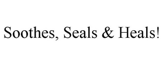 mark for SOOTHES, SEALS & HEALS!, trademark #85907497