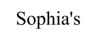 mark for SOPHIA'S, trademark #85907785
