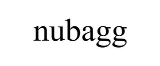 mark for NUBAGG, trademark #85907914