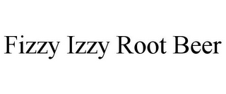 mark for FIZZY IZZY ROOT BEER, trademark #85907988