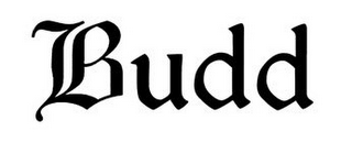 mark for BUDD, trademark #85908113