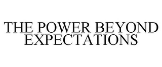 mark for THE POWER BEYOND EXPECTATIONS, trademark #85908520