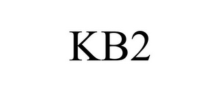mark for KB2, trademark #85908564