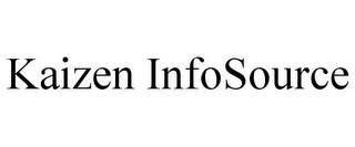 mark for KAIZEN INFOSOURCE, trademark #85908802