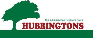 mark for THE ALL-AMERICAN FURNITURE STORE HUBBINGTONS, trademark #85909492
