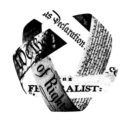mark for DECLARATION WE THE OF RIGHTS FEDERALIST, trademark #85910799