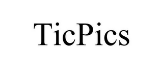 mark for TICPICS, trademark #85911460