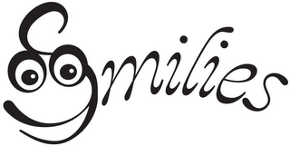 mark for SMILIES, trademark #85911476