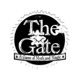 mark for THE GATE A GAME OF MYTH AND MAGIC, trademark #85911679