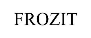 mark for FROZIT, trademark #85911802