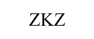 mark for ZKZ, trademark #85911951