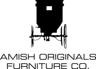 mark for AMISH ORIGINALS FURNITURE CO., trademark #85911982