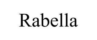 mark for RABELLA, trademark #85912168