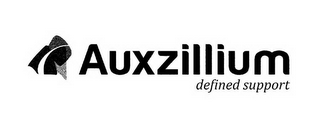 mark for AUXZILLIUM DEFINED SUPPORT, trademark #85912329