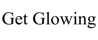 mark for GET GLOWING, trademark #85912458
