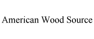 mark for AMERICAN WOOD SOURCE, trademark #85912899