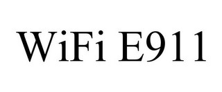 mark for WIFI E911, trademark #85913080