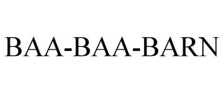 mark for BAA-BAA-BARN, trademark #85913420