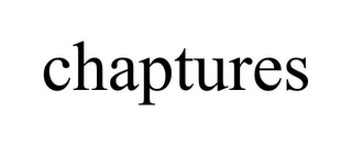mark for CHAPTURES, trademark #85914090
