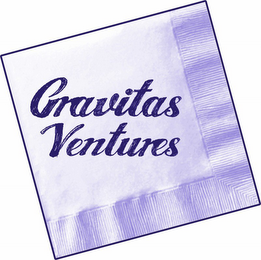 mark for GRAVITAS VENTURES, trademark #85915039