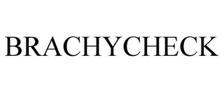 mark for BRACHYCHECK, trademark #85915198