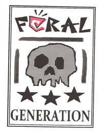 mark for FERAL GENERATION, trademark #85915581