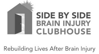 mark for SIDE BY SIDE BRAIN INJURY CLUBHOUSE REBUILDING LIVES AFTER BRAIN INJURY, trademark #85915761