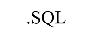 mark for .SQL, trademark #85915814