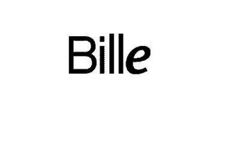mark for BILLE, trademark #85915915
