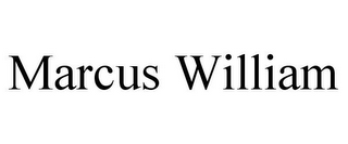 mark for MARCUS WILLIAM, trademark #85917075