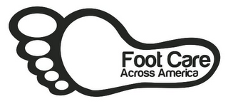 mark for FOOT CARE ACROSS AMERICA, trademark #85917425