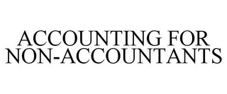mark for ACCOUNTING FOR NON-ACCOUNTANTS, trademark #85917614