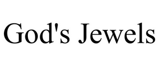 mark for GOD'S JEWELS, trademark #85917971