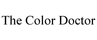 mark for THE COLOR DOCTOR, trademark #85918050