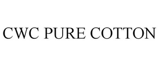 mark for CWC PURE COTTON, trademark #85918183