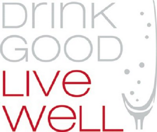mark for DRINK GOOD LIVE WELL, trademark #85918269