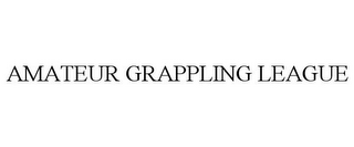 mark for AMATEUR GRAPPLING LEAGUE, trademark #85918487