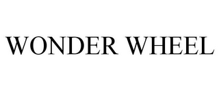 mark for WONDER WHEEL, trademark #85918633