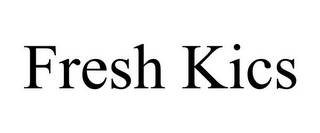 mark for FRESH KICS, trademark #85918721