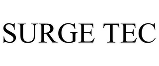 mark for SURGE TEC, trademark #85918928