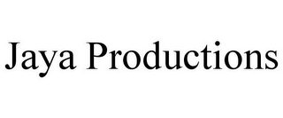 mark for JAYA PRODUCTIONS, trademark #85919056