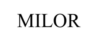 mark for MILOR, trademark #85919345