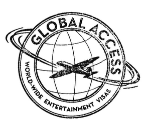 mark for GLOBAL ACCESS WORLD-WIDE ENTERTAINMENT VISAS, trademark #85919527