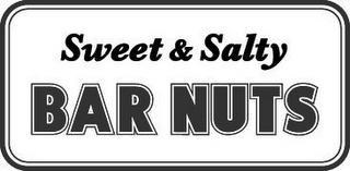 mark for SWEET & SALTY BAR NUTS, trademark #85919631