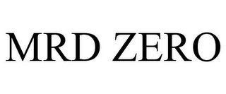mark for MRD ZERO, trademark #85919663